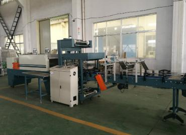 Linear Type Film Shrink Wrapping Machine